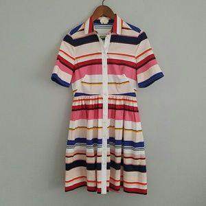 NWT Kate Spade Berber Stripe Shirtdress 2